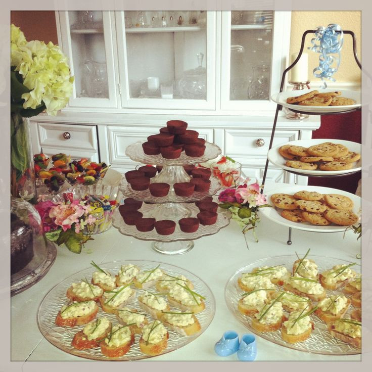 Best ideas about Baby Shower Food Table . Save or Pin Baby shower food table ideas for display Now.