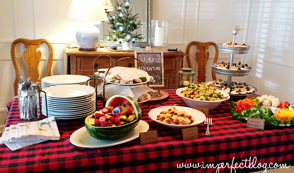 Best ideas about Baby Shower Food Table . Save or Pin Camp Baby Shower Now.