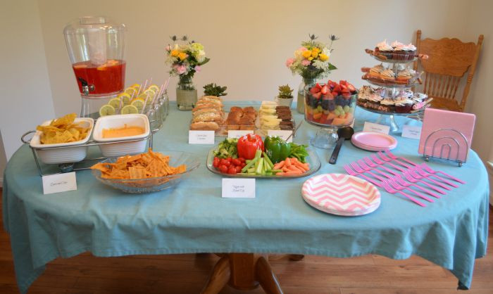 Best ideas about Baby Shower Food Table . Save or Pin Baby Shower The Food Table Amy Latta Creations Now.
