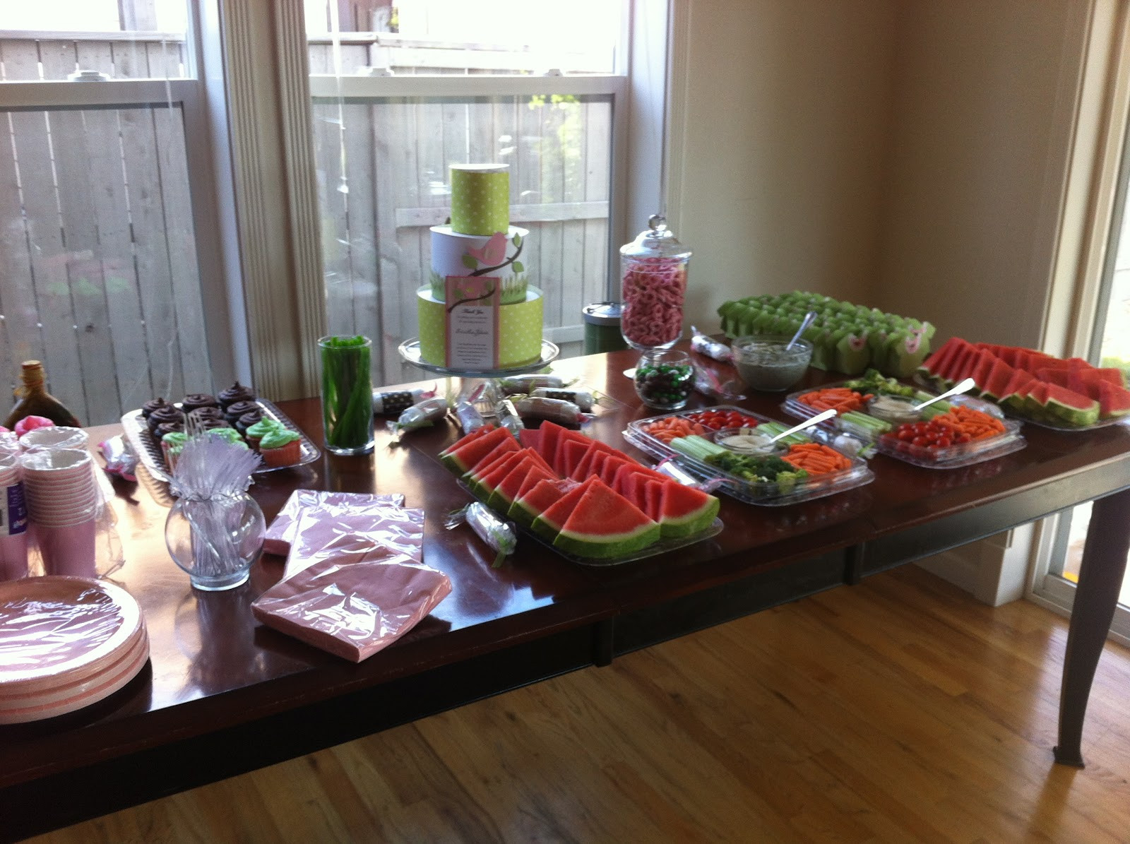 Best ideas about Baby Shower Food Table . Save or Pin Great Creations Baby Shower Food Table Now.