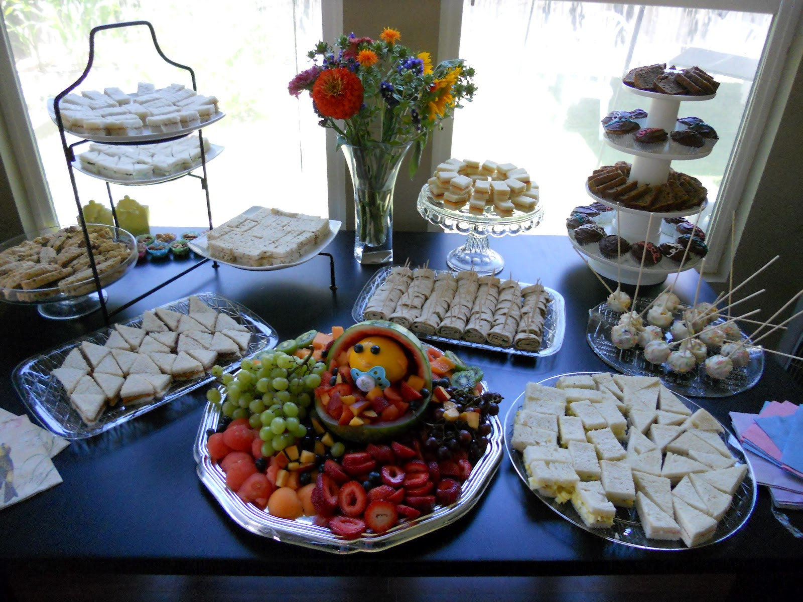 Best ideas about Baby Shower Food Table . Save or Pin High Tide or Low Tide My baby shower Now.