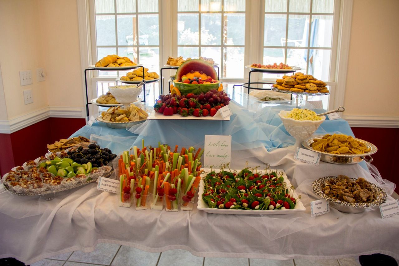 Best ideas about Baby Shower Food Table . Save or Pin baby shower food table Party Ideas Pinterest Now.