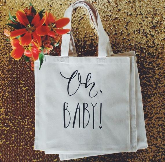 Best ideas about Baby Shower Gift Bag Ideas For Guests . Save or Pin Baby Shower Guest Favor or Baby Shower Gift Bag by DreamState Now.