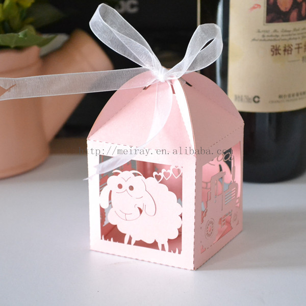 Best ideas about Baby Shower Gift Bag Ideas For Guests . Save or Pin Aliexpress Buy sheep paper bags baby pink baby Now.