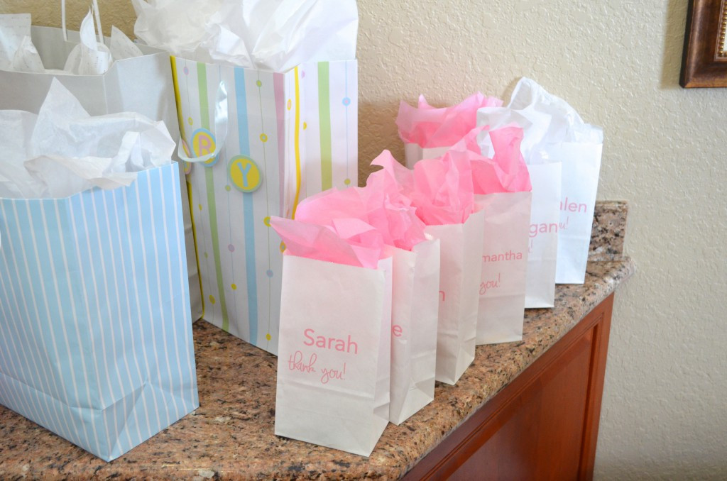 Best ideas about Baby Shower Gift Bag Ideas For Guests . Save or Pin Pink Tulle Ribbon Goo Bags Now.