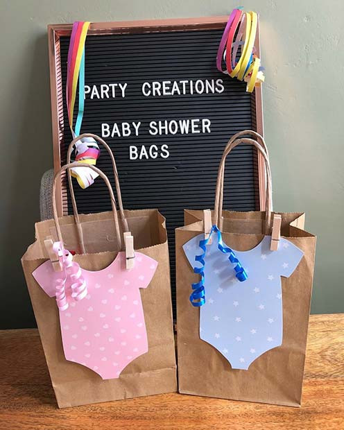 Best ideas about Baby Shower Gift Bag Ideas For Guests . Save or Pin 41 Baby Shower Favors That Your Guests Will Love Now.