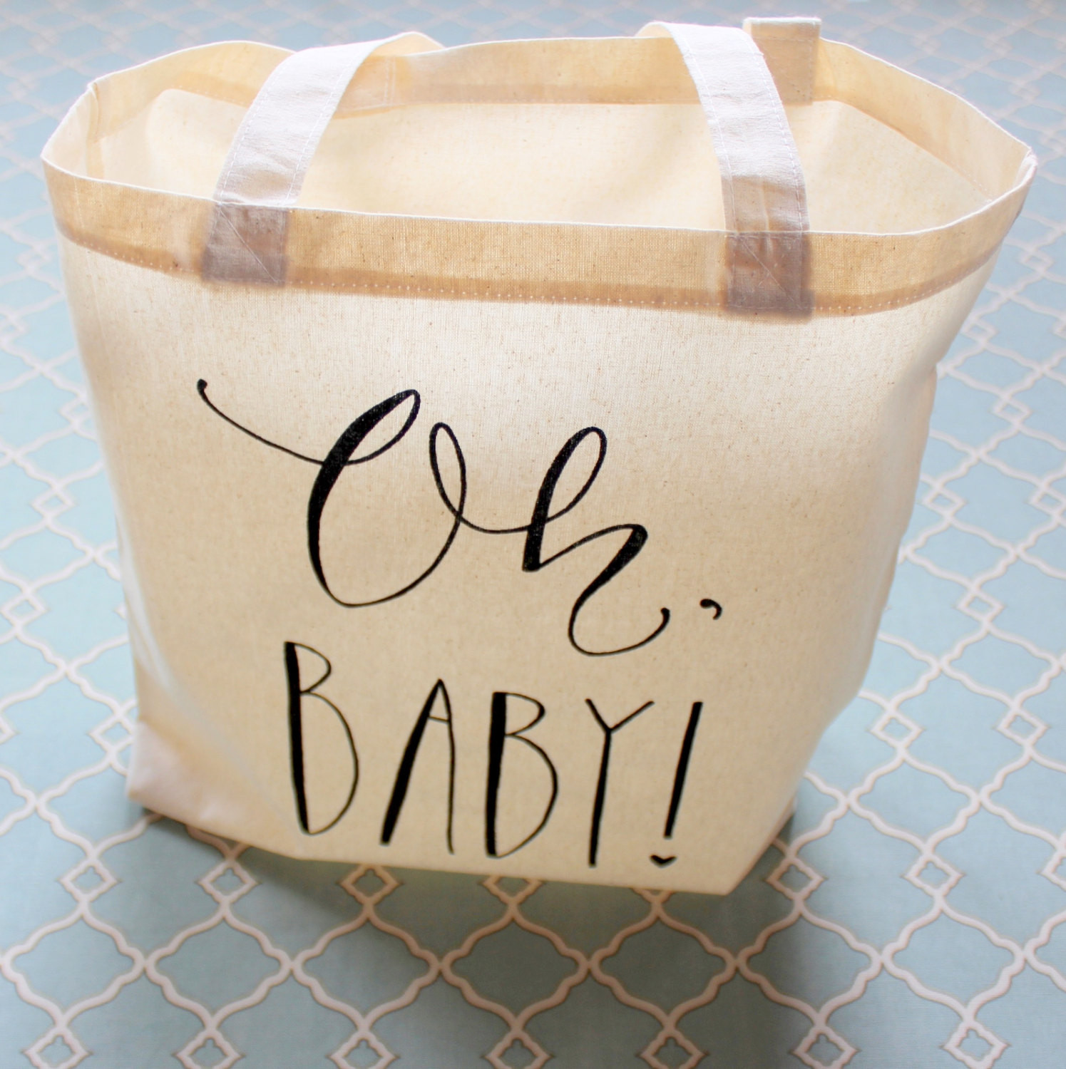 Best ideas about Baby Shower Gift Bag Ideas For Guests . Save or Pin Baby Shower Guest Favor or Baby Shower Gift Bag Handwritten Oh Now.