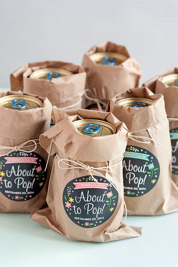 Best ideas about Baby Shower Gift Bags Ideas . Save or Pin 3 Easy Baby Shower Favor Ideas Evermine Occasions Now.