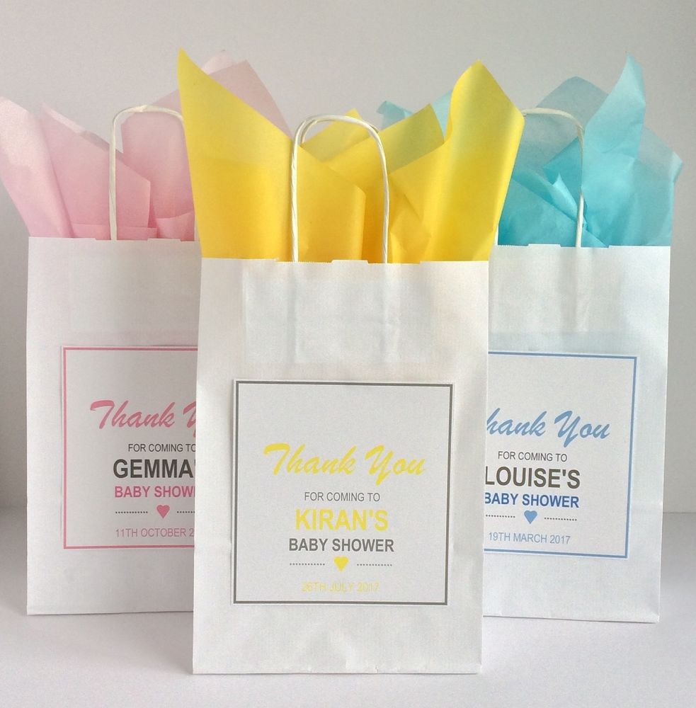 Best ideas about Baby Shower Gift Bags Ideas . Save or Pin Personalised Baby Shower Gift Bag Vintage Style Favour Now.