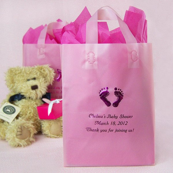 Best ideas about Baby Shower Gift Bags Ideas . Save or Pin 8 x 10 Custom Printed Frosted Baby Shower Gift Bags Now.