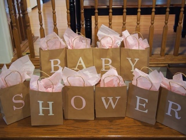 Best ideas about Baby Shower Gift Bags Ideas . Save or Pin Baby Shower Game each bag contains a baby item beginning Now.