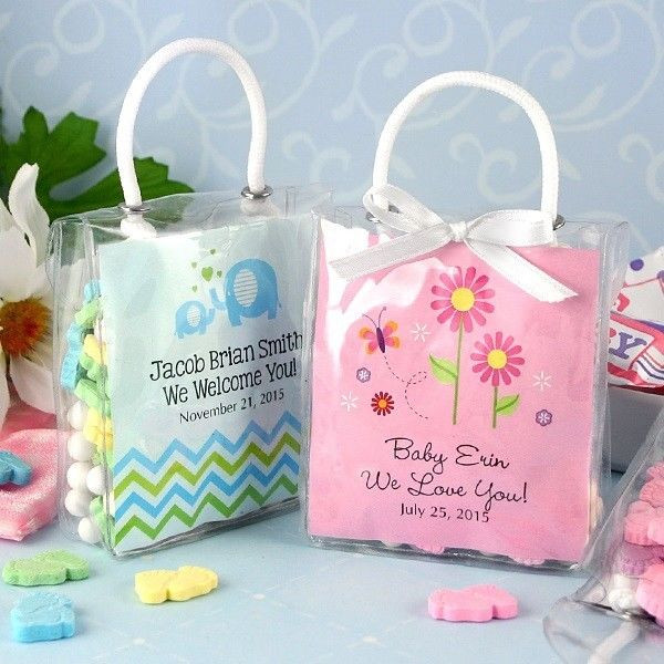 Best ideas about Baby Shower Gift Bags Ideas . Save or Pin Baby Shower Mini Gift Totes for Baby Shower Favors & Gift Now.