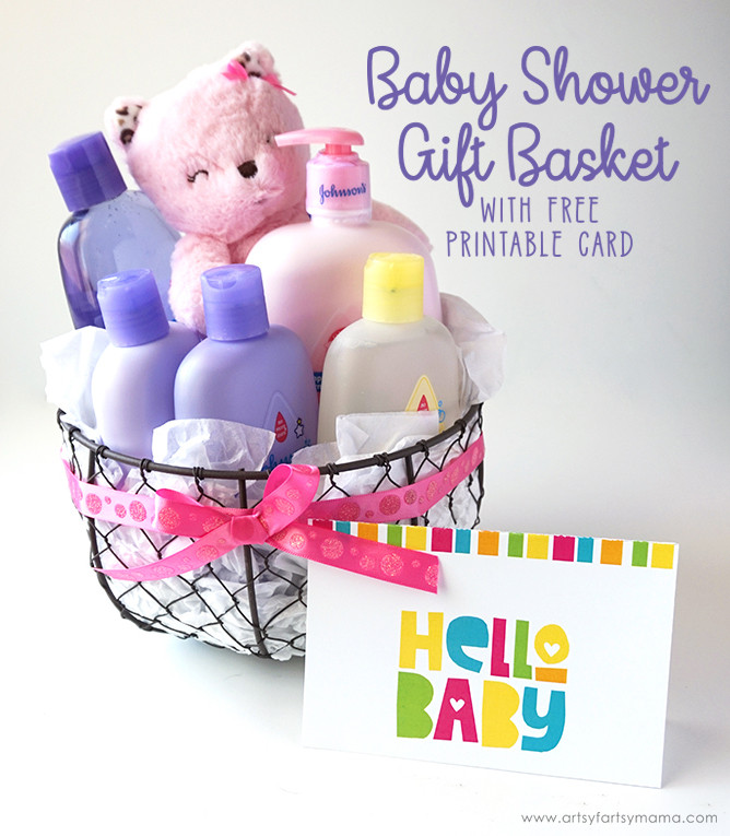 Best ideas about Baby Shower Gift Card Ideas . Save or Pin Baby Shower Gift Basket with Free Printable Card Now.