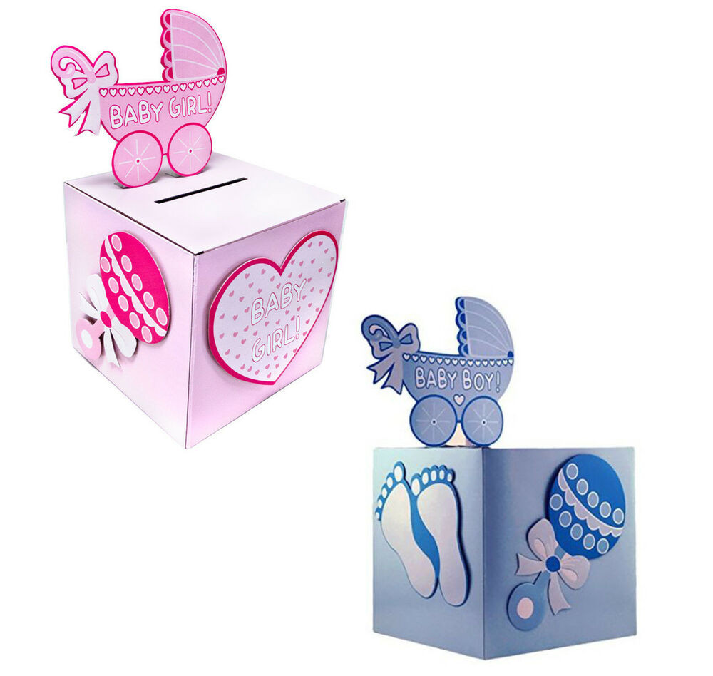 Best ideas about Baby Shower Gift Card Ideas . Save or Pin BabyShower Wishing well card t or money box BOY GIRL Now.