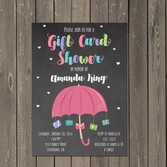Best ideas about Baby Shower Gift Card Ideas . Save or Pin Best 25 Umbrella baby shower ideas on Pinterest Now.