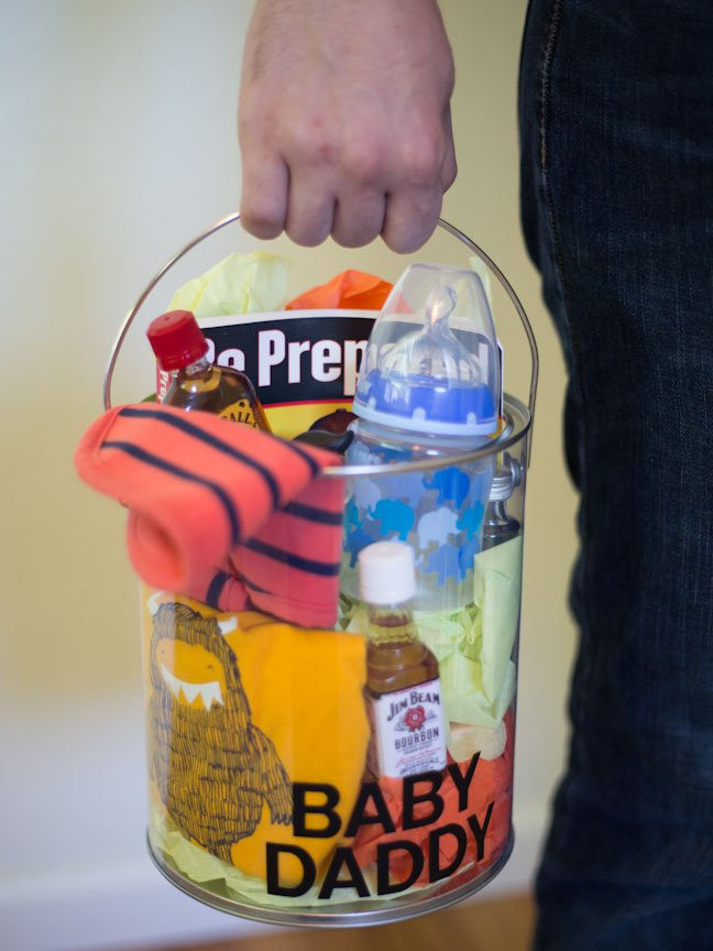 Best ideas about Baby Shower Gift Ideas For Dad . Save or Pin How to Make a Creative Baby Shower Gift for Dad Now.