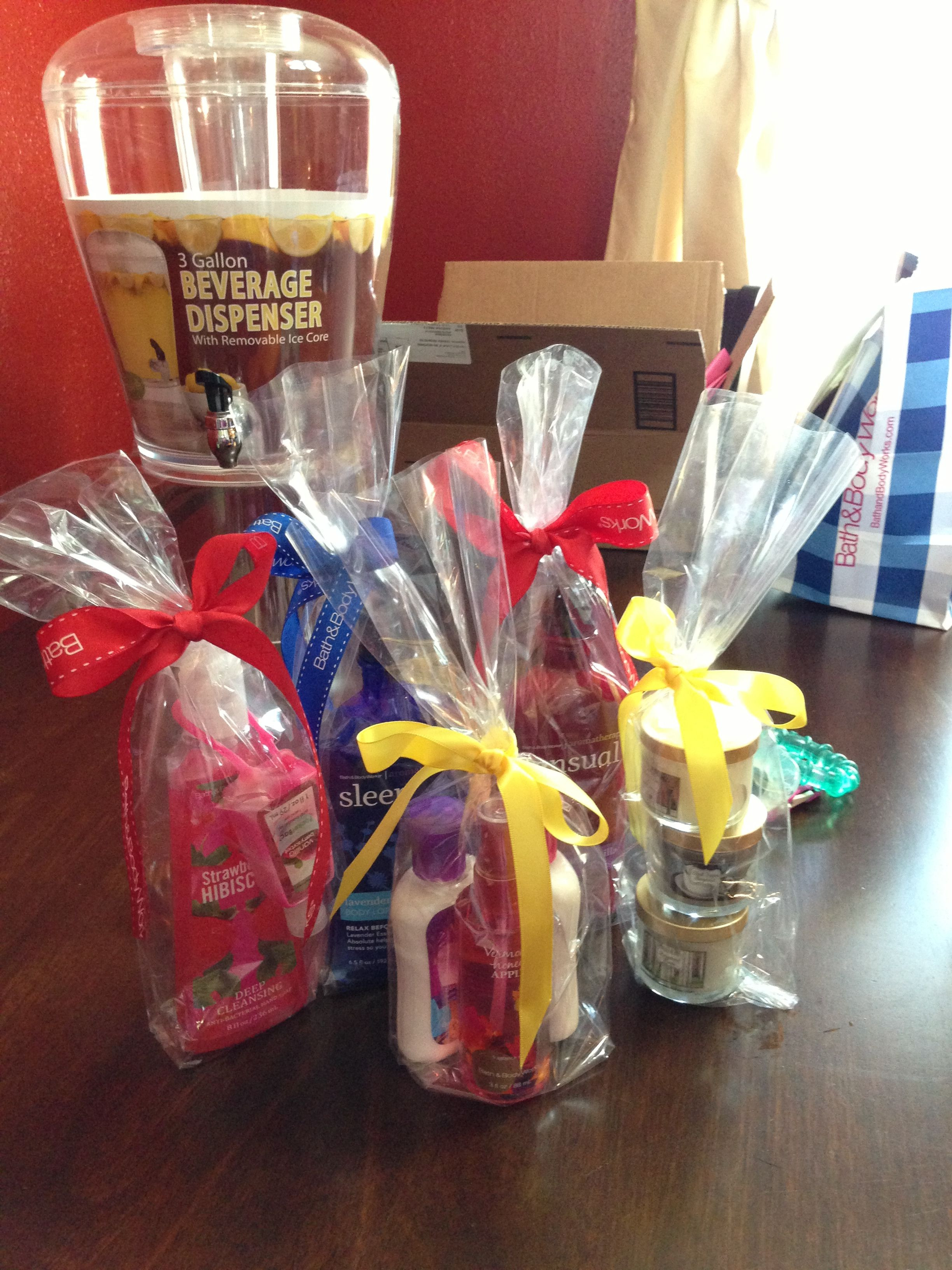 Best ideas about Baby Shower Gift Ideas For Games . Save or Pin Babyshower prizes bathandbodyworks BaBy Now.