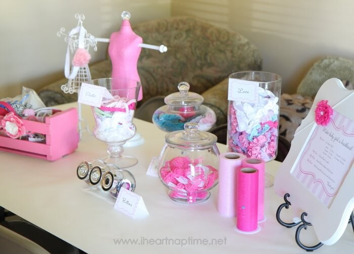 Best ideas about Baby Shower Gift Ideas For Guest . Save or Pin Hair bows for baby baby shower idea I Heart Nap Time Now.