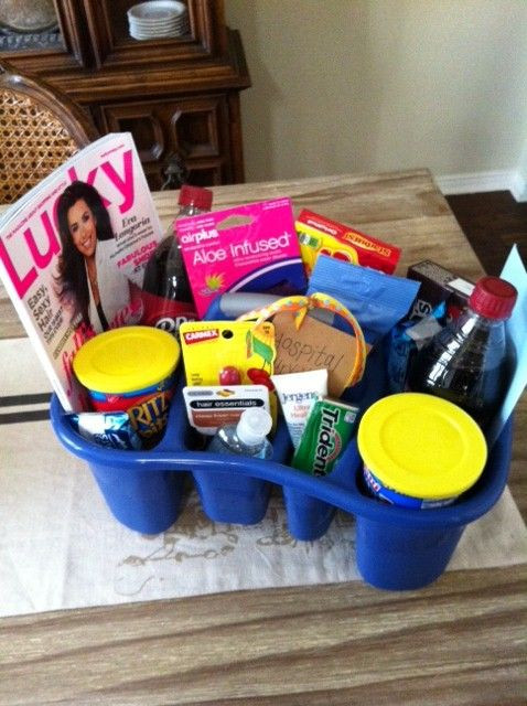 Best ideas about Baby Shower Gift Ideas For Mom . Save or Pin Hospital survival kit Cute idea Now.
