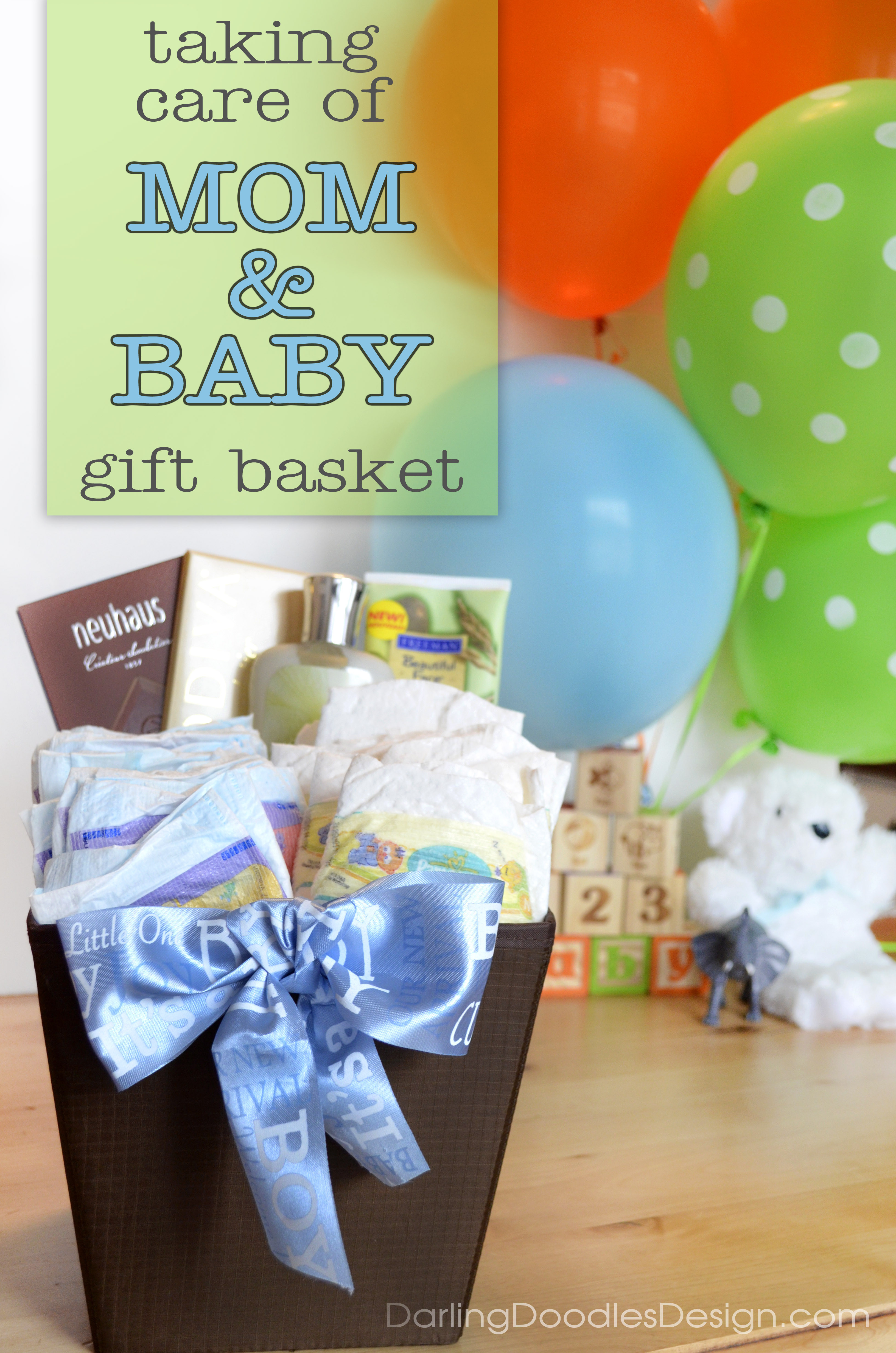 Best ideas about Baby Shower Gift Ideas For Mom . Save or Pin A Baby Shower Gift for Mom & Baby Darling Doodles Now.