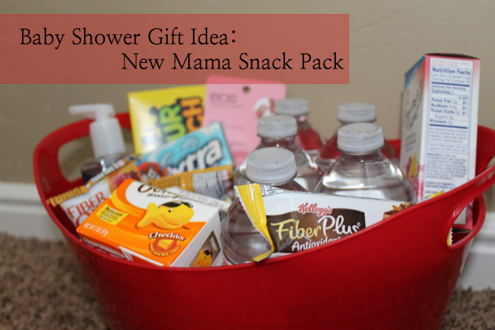 Best ideas about Baby Shower Gift Ideas For Mom . Save or Pin DIY Baby Shower Gift New Mother Snack Pack Now.