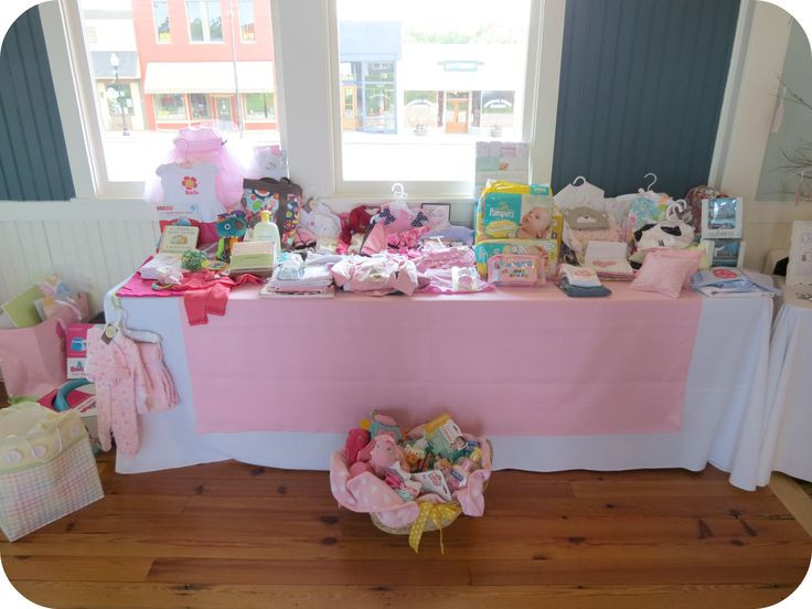 Best ideas about Baby Shower Gift Table Ideas . Save or Pin 76 best Baby Shower images on Pinterest Now.