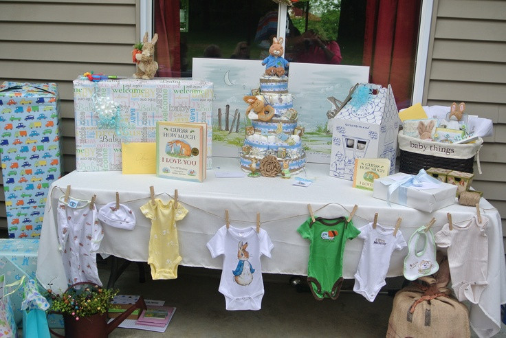 Best ideas about Baby Shower Gift Table Ideas . Save or Pin baby shower t table My stuff Pinterest Now.