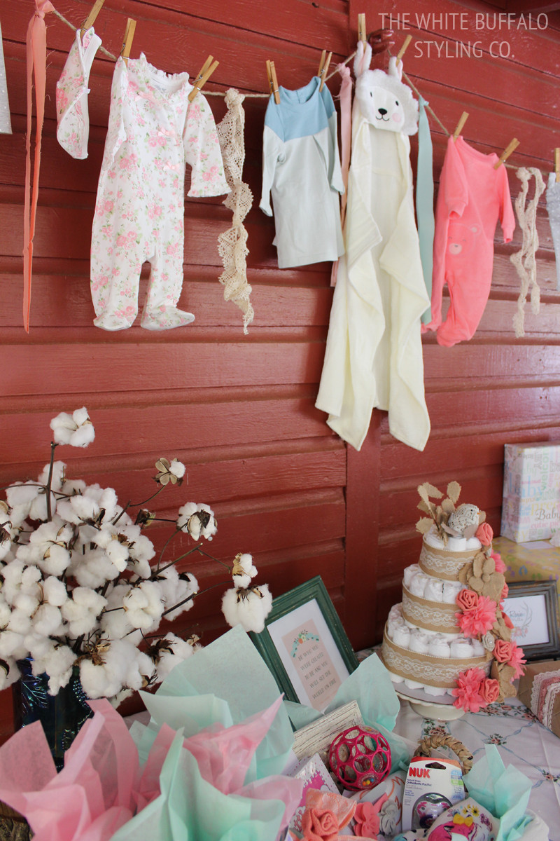 Best ideas about Baby Shower Gift Table Ideas . Save or Pin Vintage & Rustic Fall Baby Shower Now.