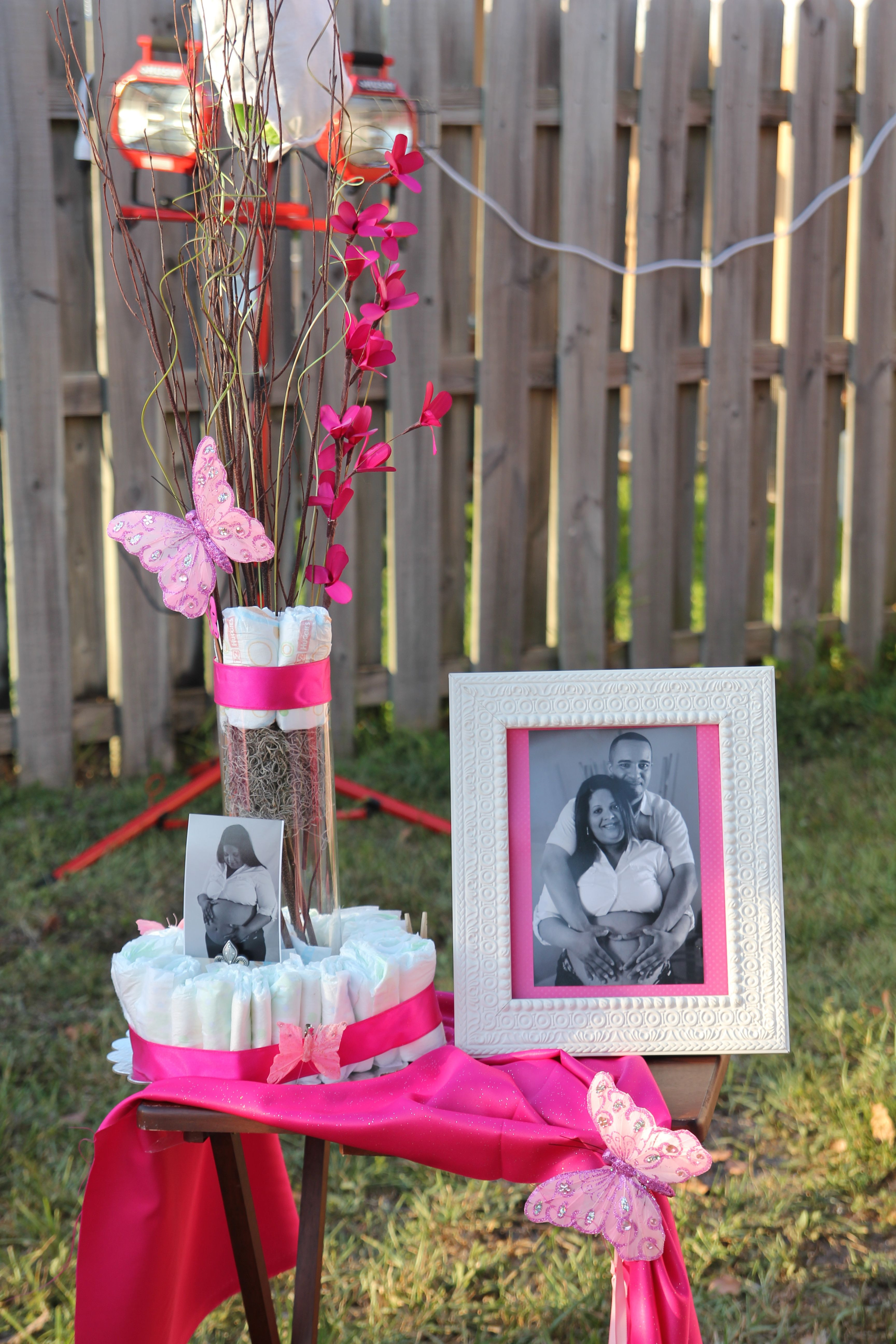 Best ideas about Baby Shower Gift Table Ideas . Save or Pin babyshower decorations Great for registry table at main Now.