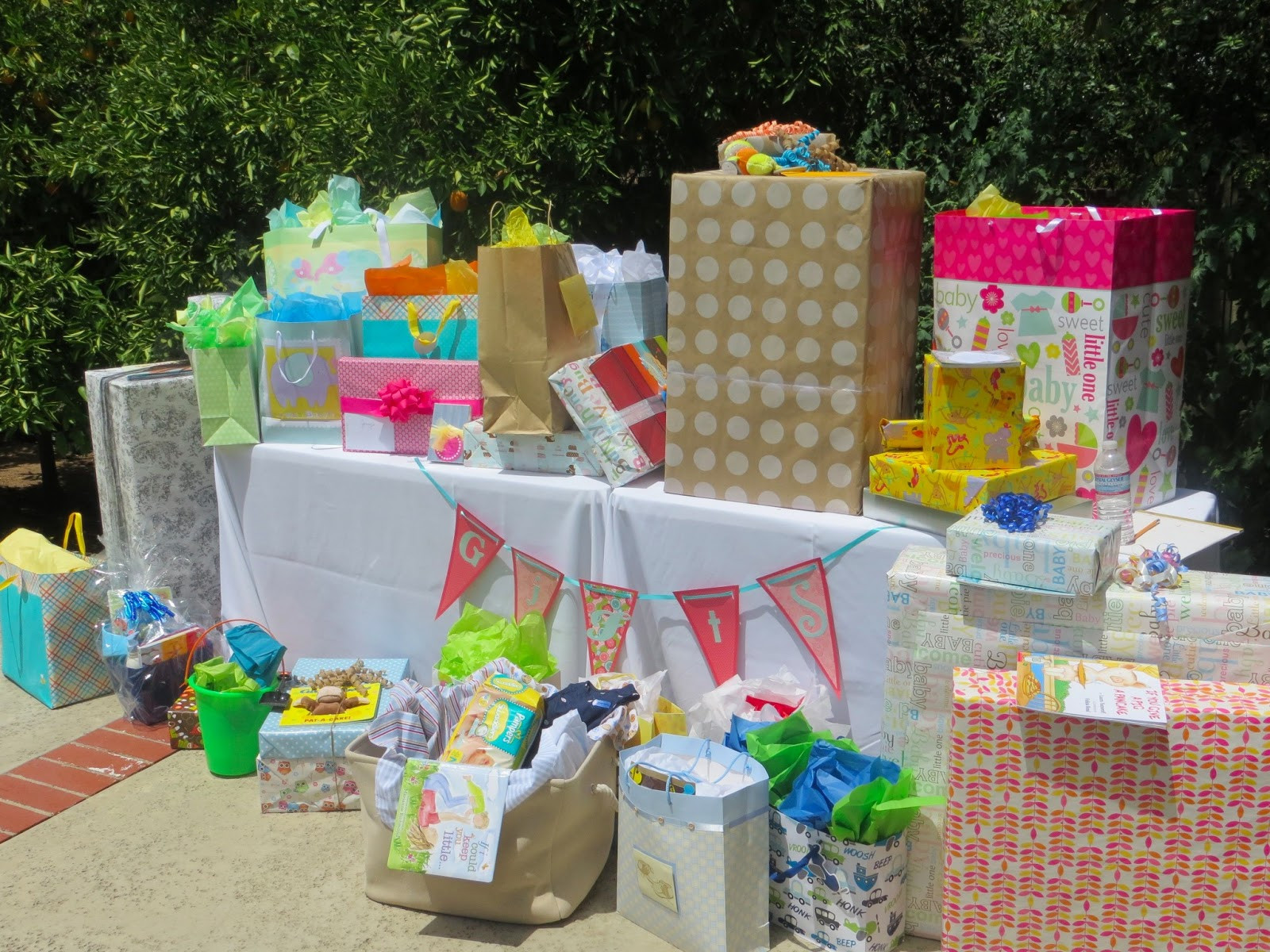 Best ideas about Baby Shower Gift Table Ideas . Save or Pin Insane for Ukraine Baby Shower Now.