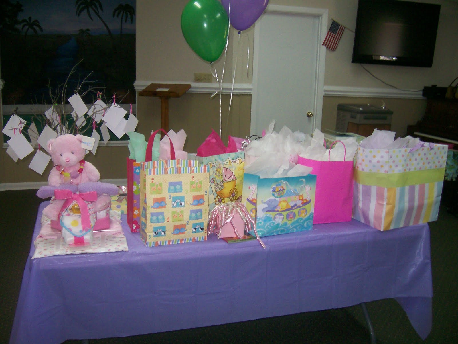 Best ideas about Baby Shower Gift Table Ideas . Save or Pin Christina s Creative Side Bedtime Story Baby Shower Now.