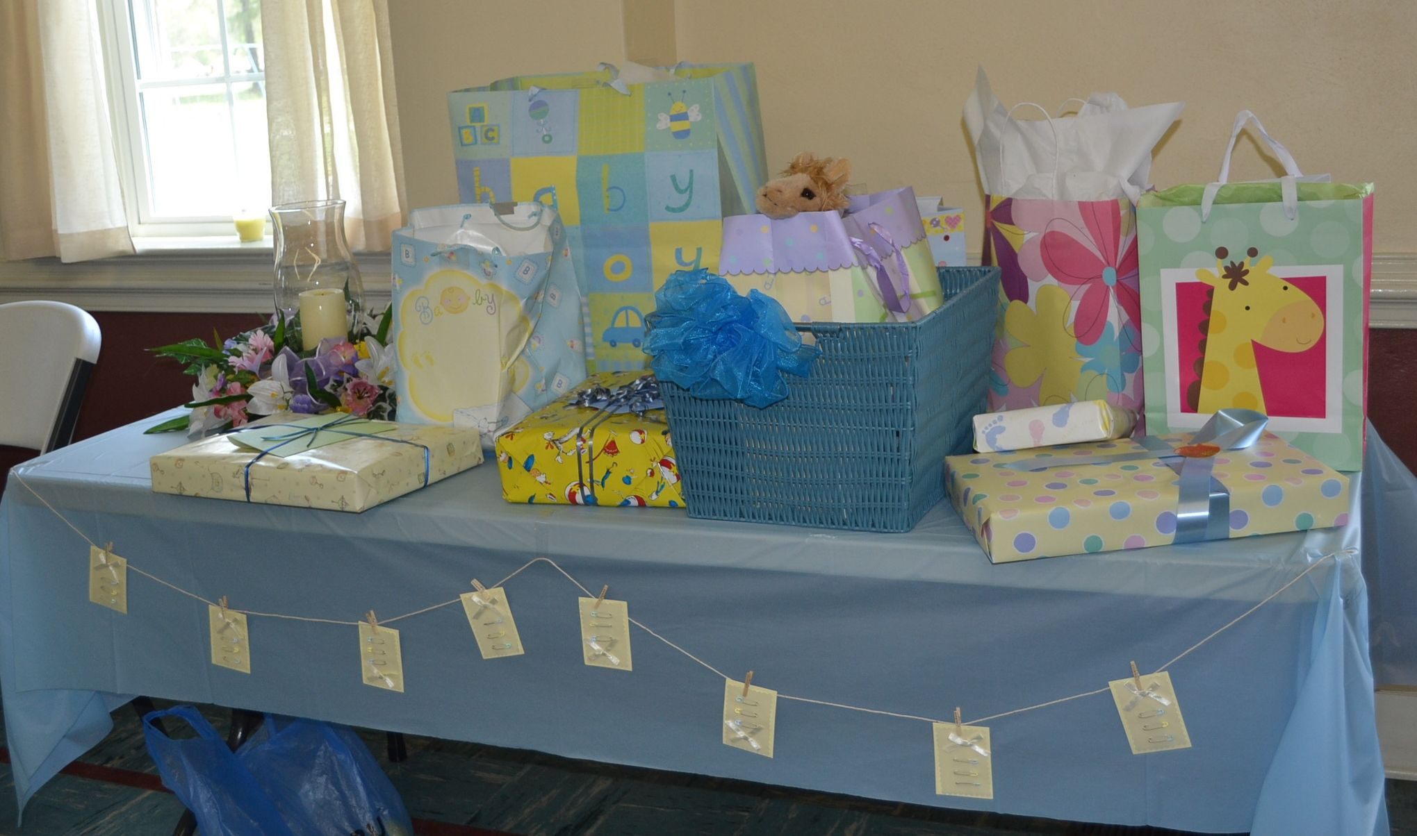 Best ideas about Baby Shower Gift Table Ideas . Save or Pin Baby Shower Gift Table Baby shower ideas Now.