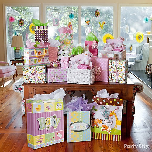 Best ideas about Baby Shower Gift Table Ideas . Save or Pin Jungle Baby Shower Gift Table Idea Jungle Animals Baby Now.