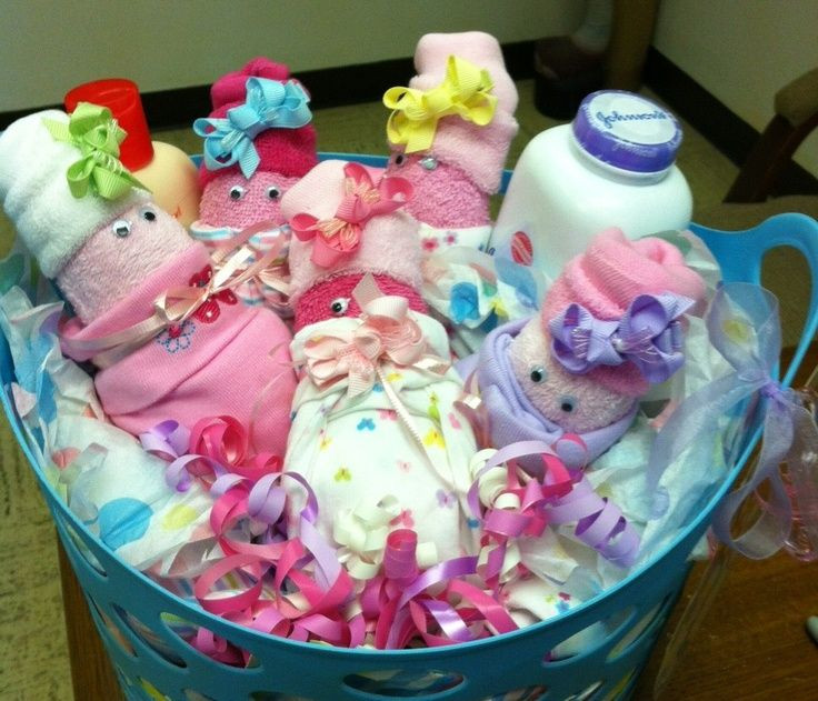 Best ideas about Baby Shower Gift Wrapping Ideas . Save or Pin baby shower t wrapping ideas bouquet Now.