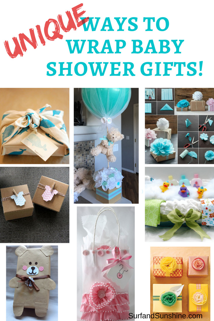 Best ideas about Baby Shower Gift Wrapping Ideas . Save or Pin Baby Shower Gifts and Clever Gift Wrapping Ideas Now.