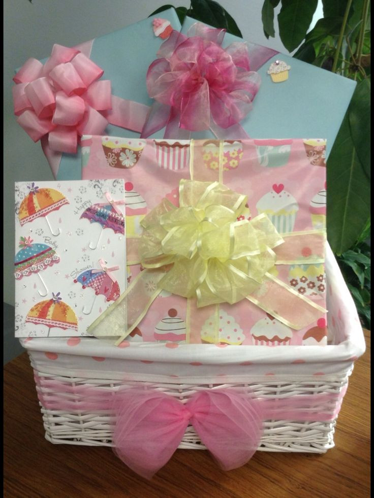 Best ideas about Baby Shower Gift Wrapping Ideas . Save or Pin Baby shower t basket t wrapping ideas for baby Now.