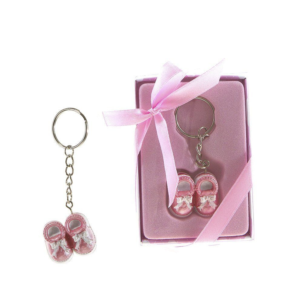 Best ideas about Baby Shower Return Gift Ideas Indian . Save or Pin Baby shoes key chains return ts Now.
