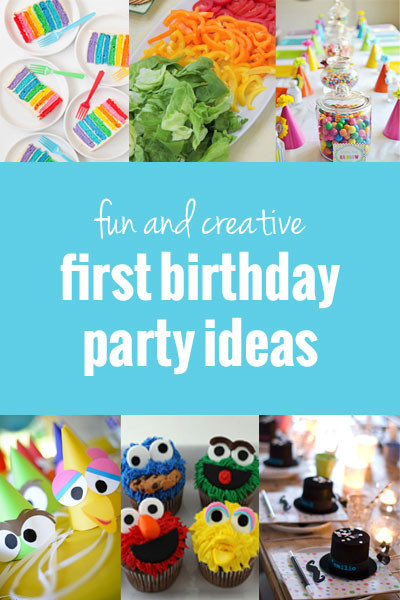 Best ideas about Baby's First Birthday Party Ideas . Save or Pin Fun and Creative First Birthday Party Ideas Now.