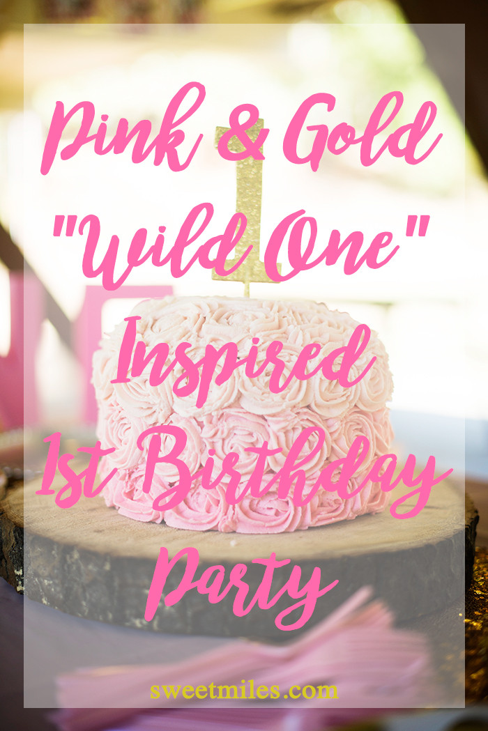 Best ideas about Baby's First Birthday Party Ideas . Save or Pin Adeline s First Birthday Party Details A Pink and Gold Now.