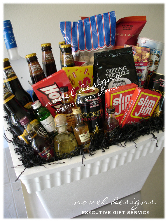 Best ideas about Bachelor Party Gift Ideas . Save or Pin Custom Las Vegas Gift Baskets Las Vegas Gift Basket Delivery Now.