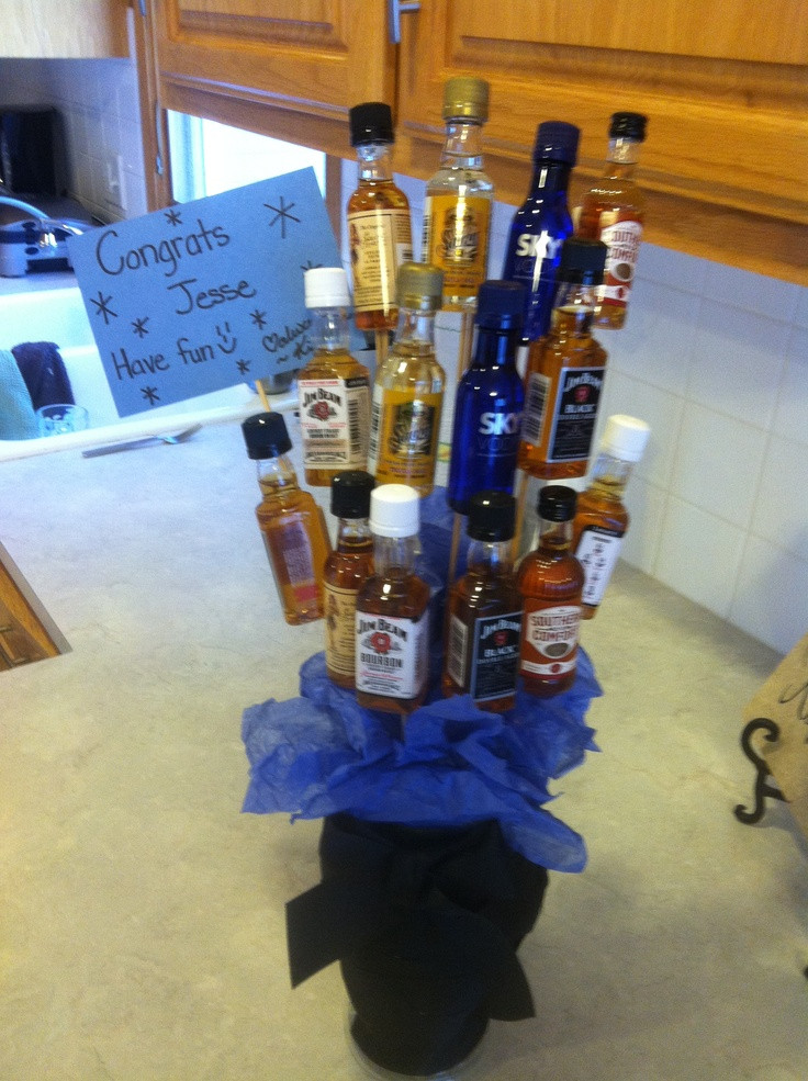 Best ideas about Bachelor Party Gift Ideas . Save or Pin Bachelor party t for my brother Now.