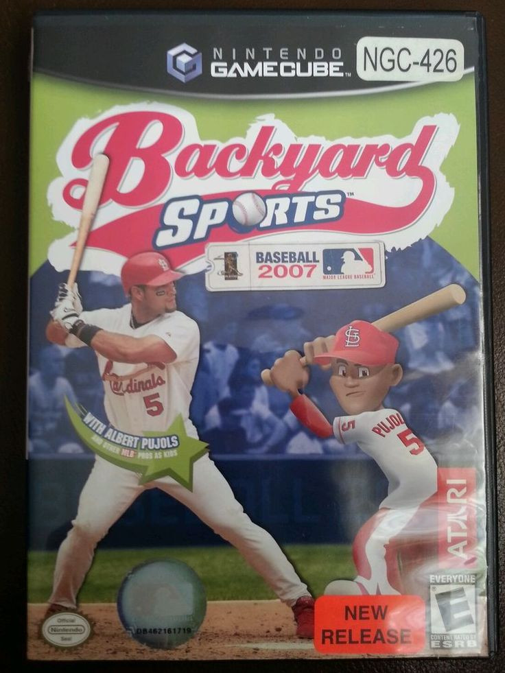 Best ideas about Backyard Baseball Gamecube . Save or Pin 192 Best images about Game Systems Nintendo Gamecube on Now.