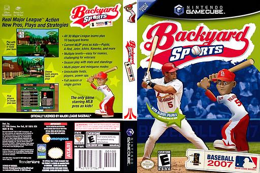 Best ideas about Backyard Baseball Gamecube . Save or Pin GA7E70 Backyard Sports Baseball 2007 Now.