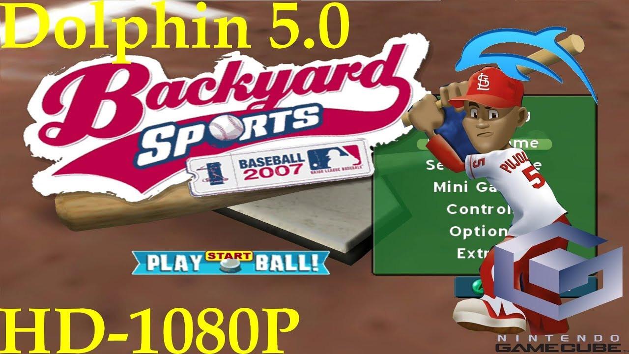 Best ideas about Backyard Baseball Gamecube . Save or Pin Backyard Baseball 2007 [Gamecube] Dolphin 5 0 [1080p HD Now.