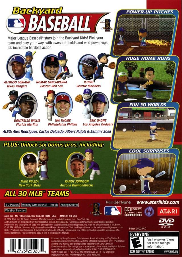 Best ideas about Backyard Baseball Gamecube . Save or Pin Backyard Baseball Sony Playstation 2 Game Now.