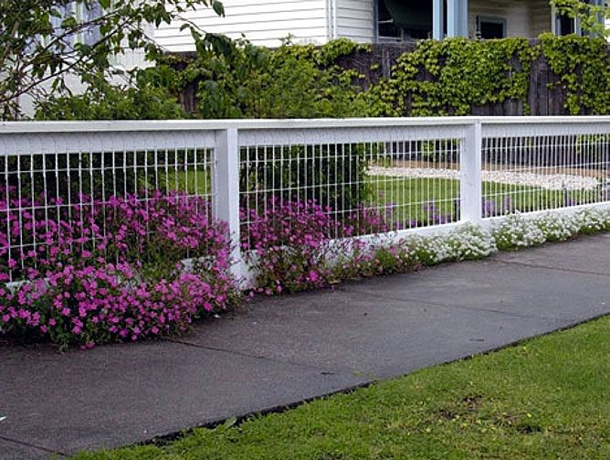 Best ideas about Backyard Fence Ideas . Save or Pin Backyard Fencing Ideas for Your Beautifull Garden Now.