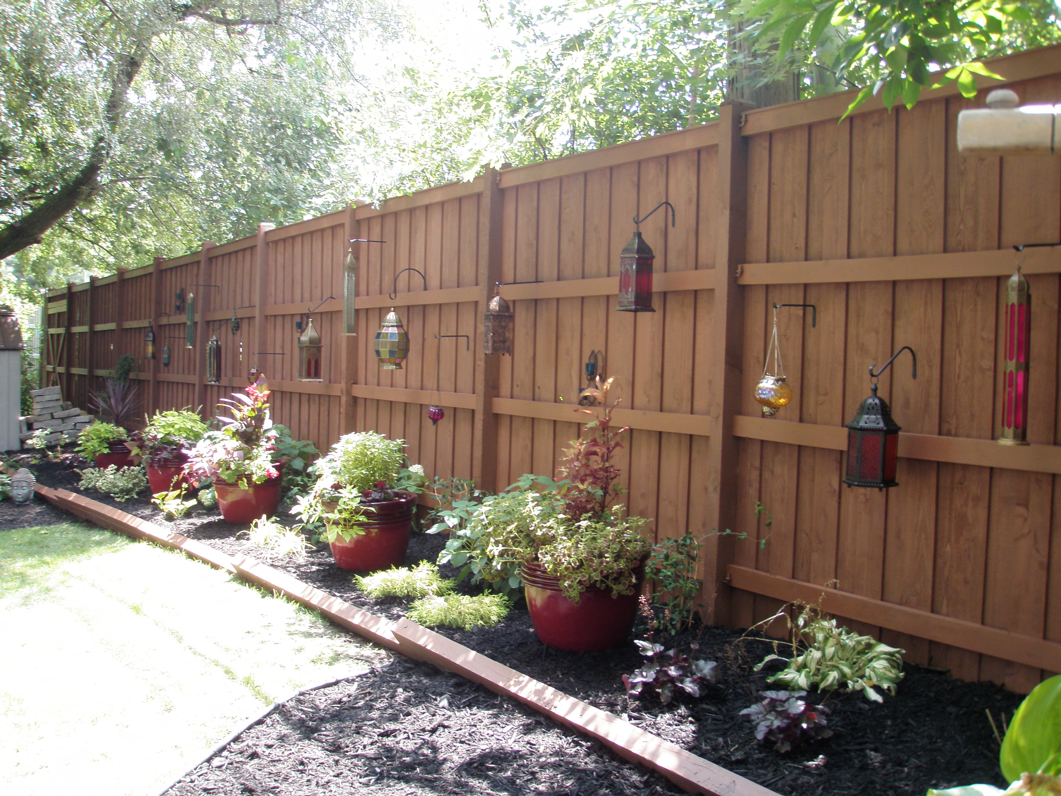 Best ideas about Backyard Fence Ideas . Save or Pin Outdoor Landscape 2011 – Emodel your home Now.