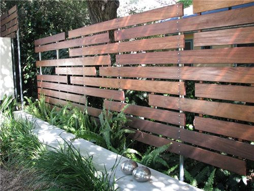 Best ideas about Backyard Fence Ideas . Save or Pin Modern Fencing & Walls Landscaping Network Now.
