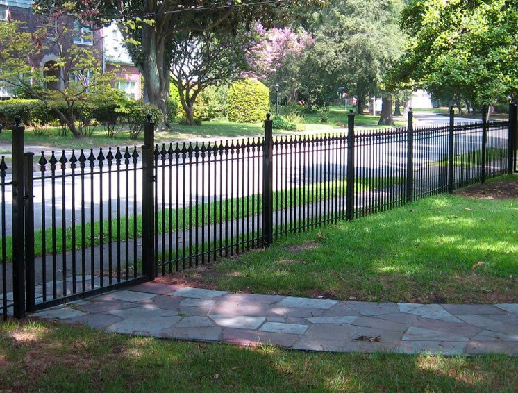 Best ideas about Backyard Fence Ideas . Save or Pin Front Yard Fence Ideas Landscaping Network Now.