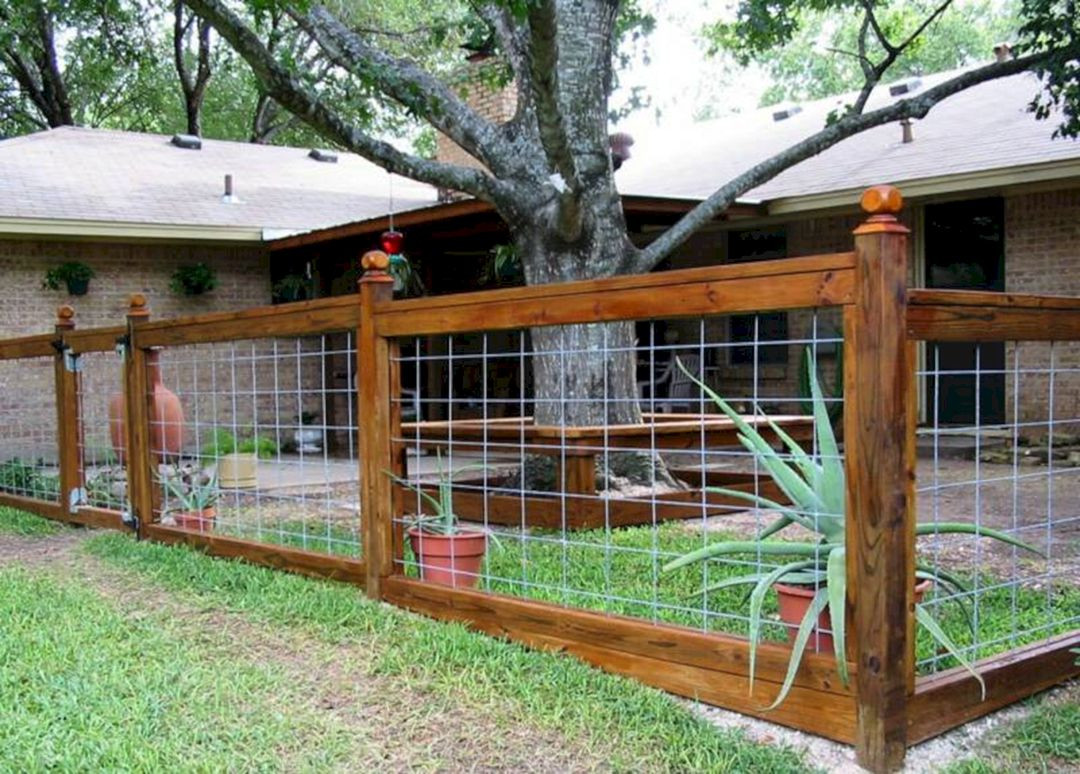 Best ideas about Backyard Fence Ideas . Save or Pin Yard Fence Ideas – DECOREDO Now.
